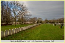 bath air raid graves at haycombe cemetery