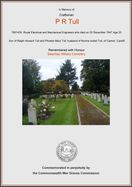 Tull, P R, Beachley Military Cemetery (Certificate) Ref 6404