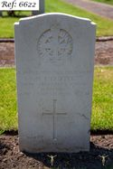 Cotter, M T, Beachley Military Cemetery (Web 2 WM) Ref 6622