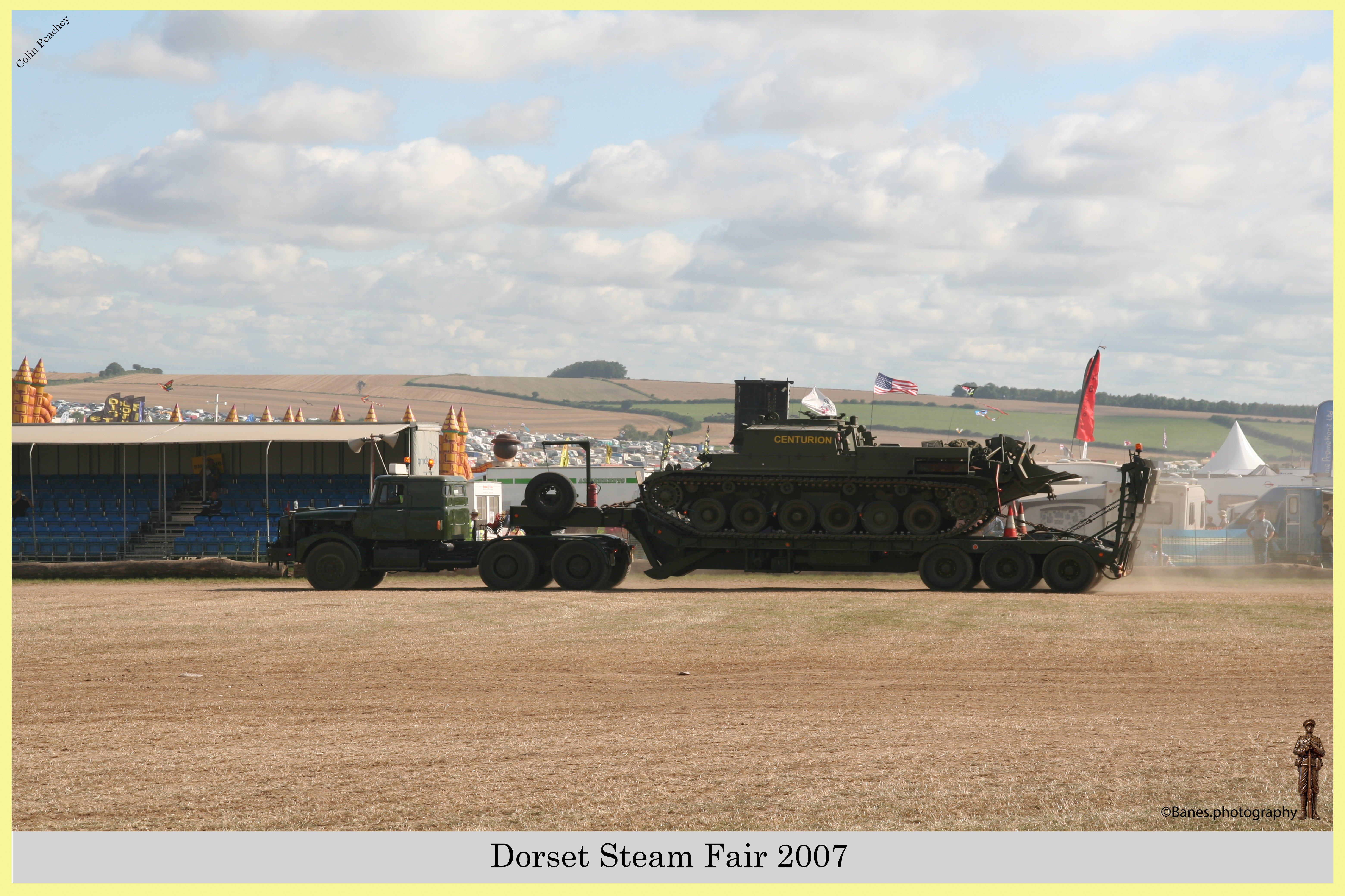 Dorset Steam Fair 2007, Blandford Forum 30-08-2007