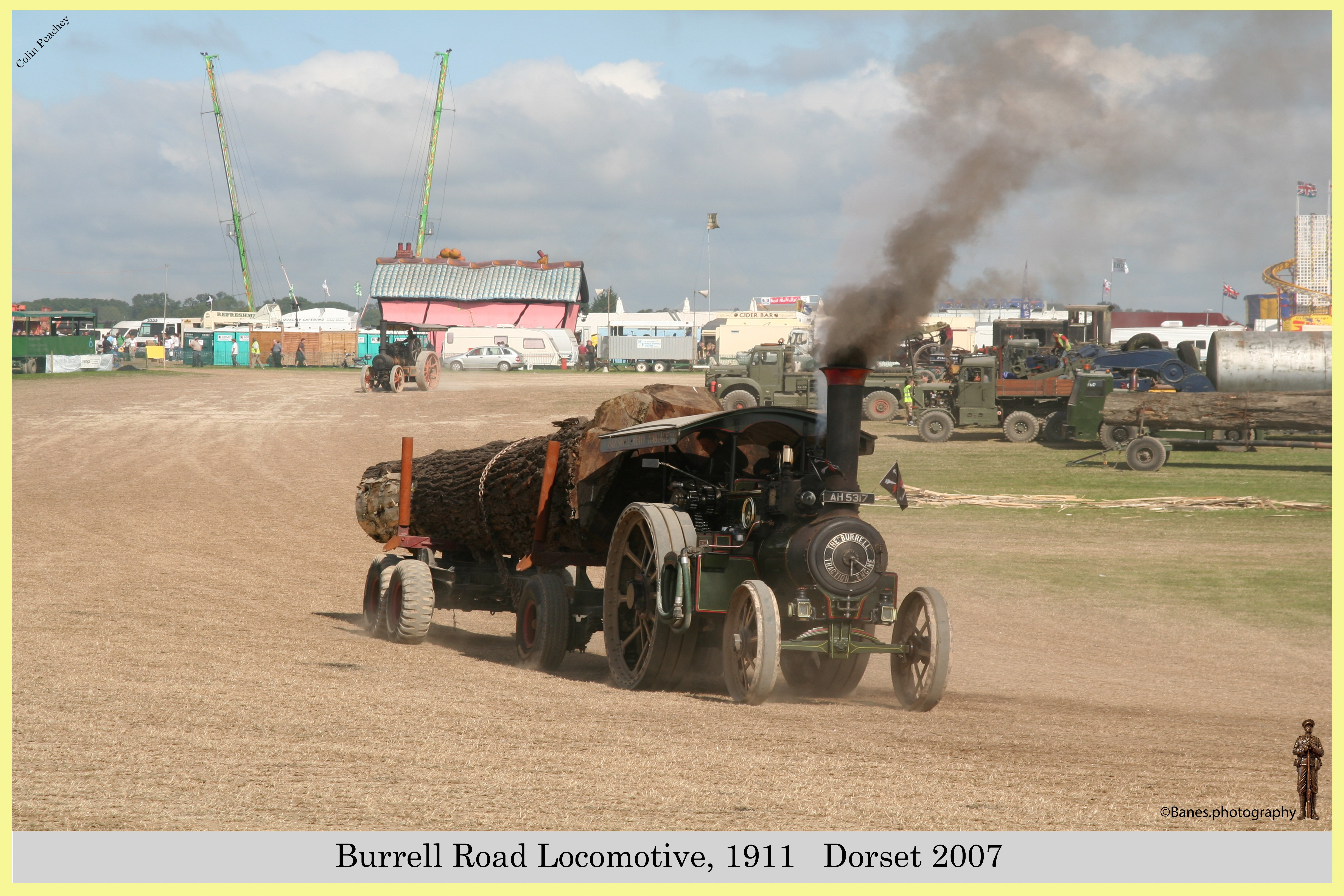 Burrell Road Locomotive, Reg No. AH 5317, 1911