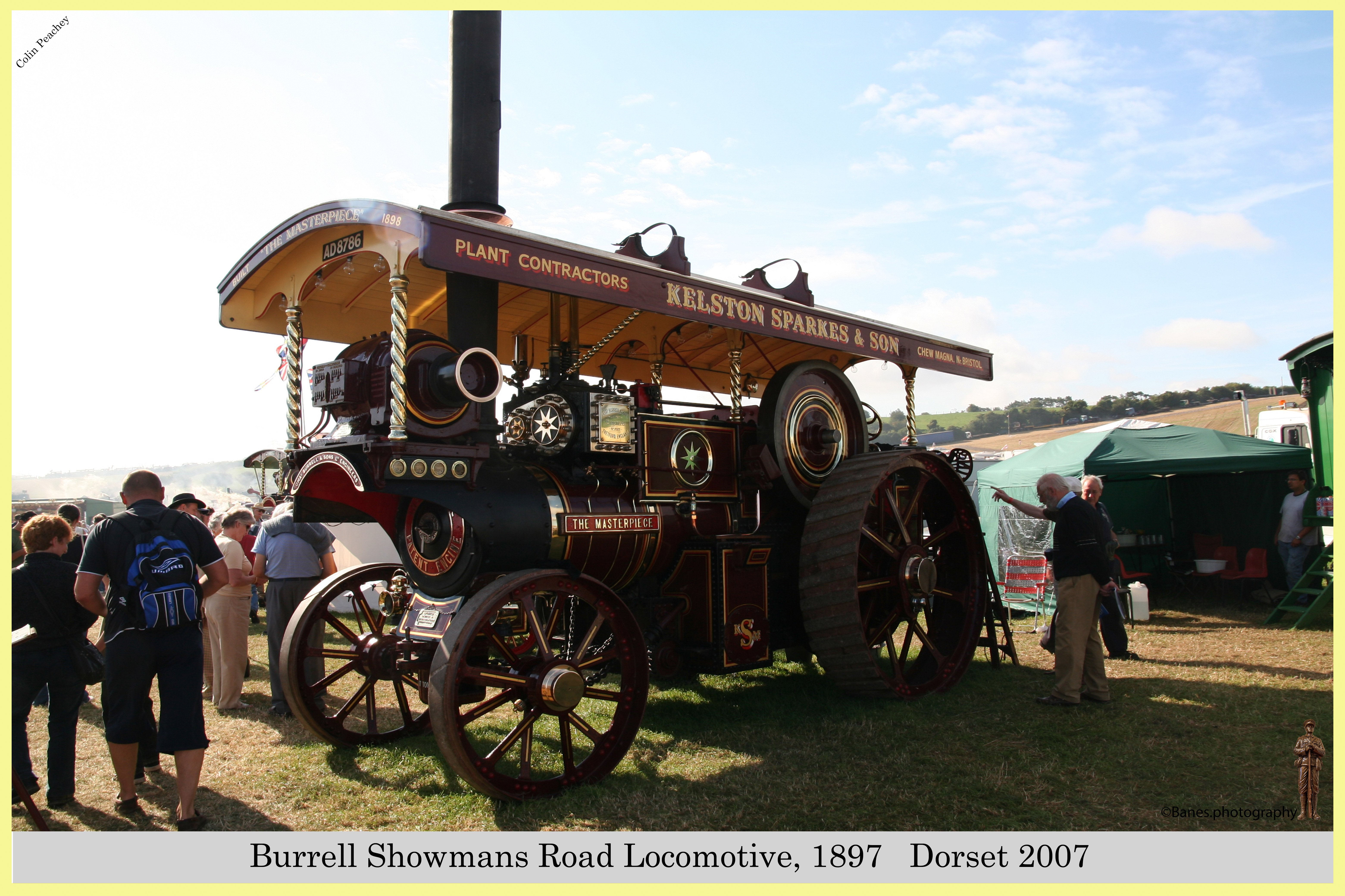 Burrell Showmans Road Locomotive, Reg No. AD 8786, 1897