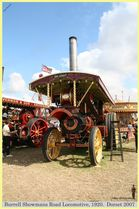 Burrell Showmans Road Locomotive, Reg No. DH 2507, 1920