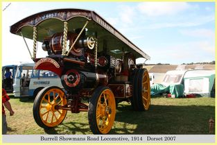Burrell Showmans Road Locomotive, Reg No. J 6857, 1914