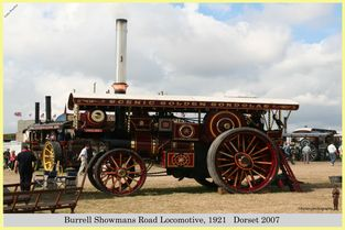 Burrell Showmans Road Locomotive, Reg No. NO 2379, 1921
