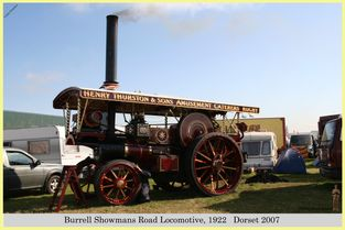 Burrell Showmans Road Locomotive, Reg No. NO 4999, 1922