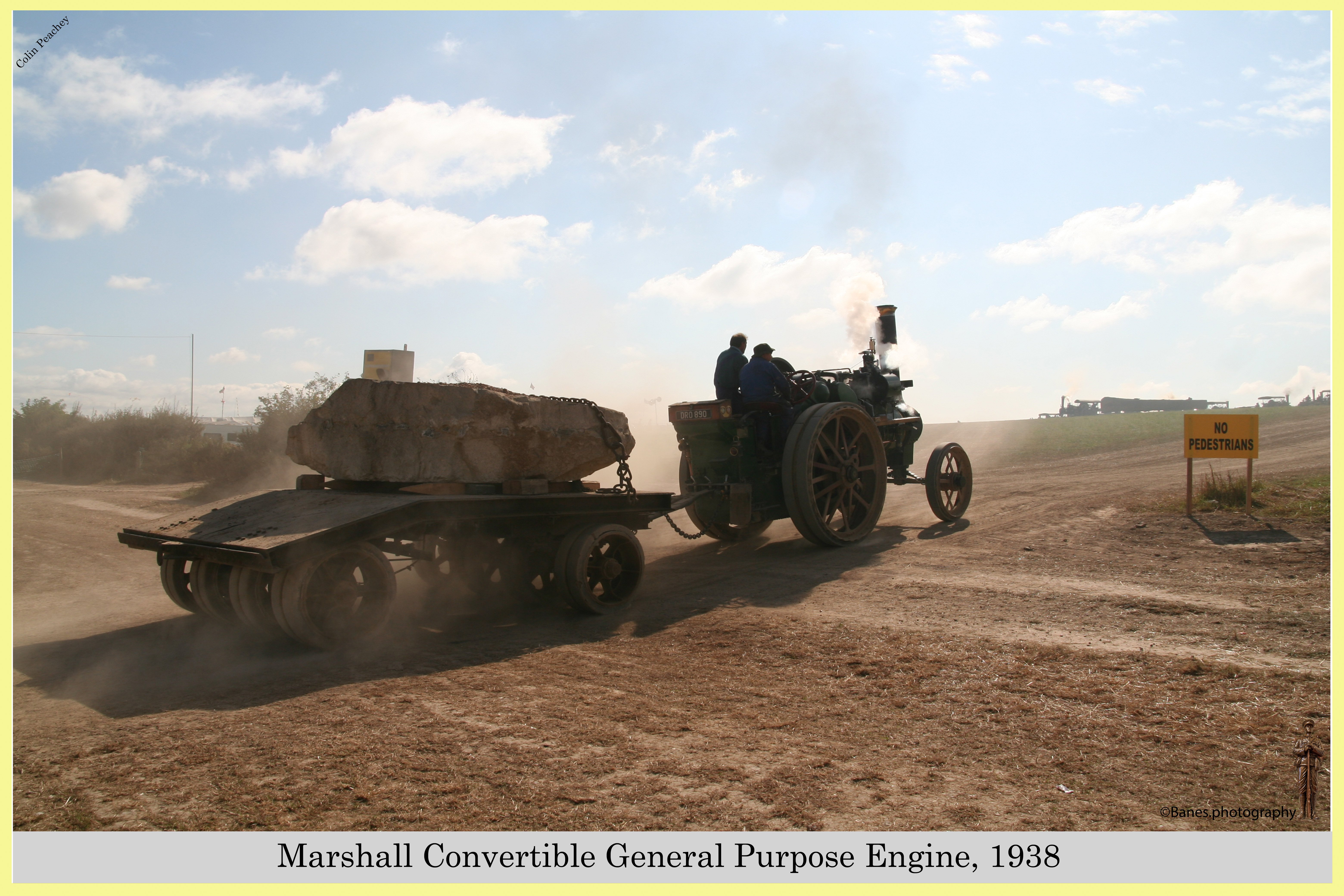 Marshall Convertible General Purpose Engine, Reg No. DRO 890, 1938