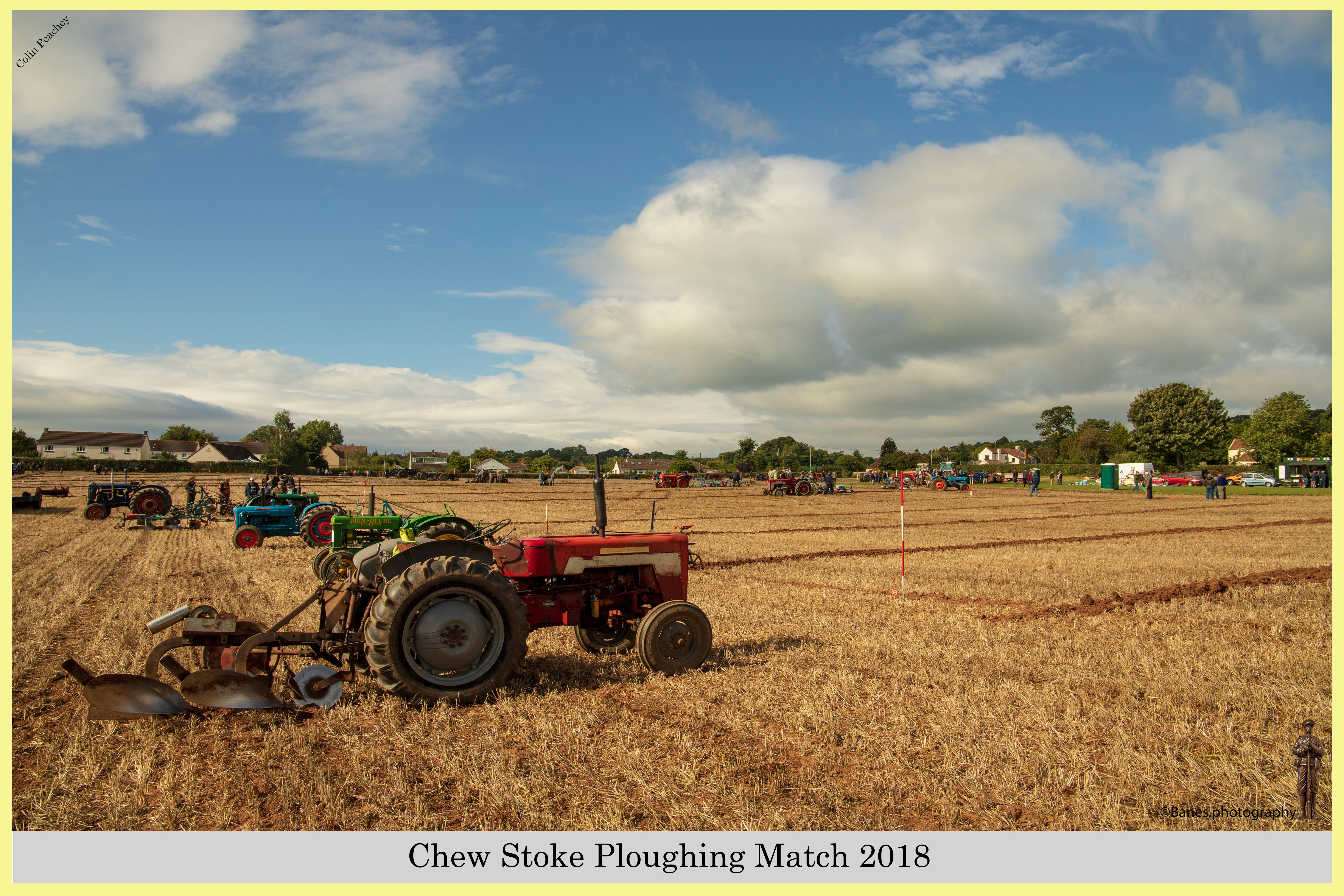 Vintage Tractor at Chew Stoke Ploughing Match 2018