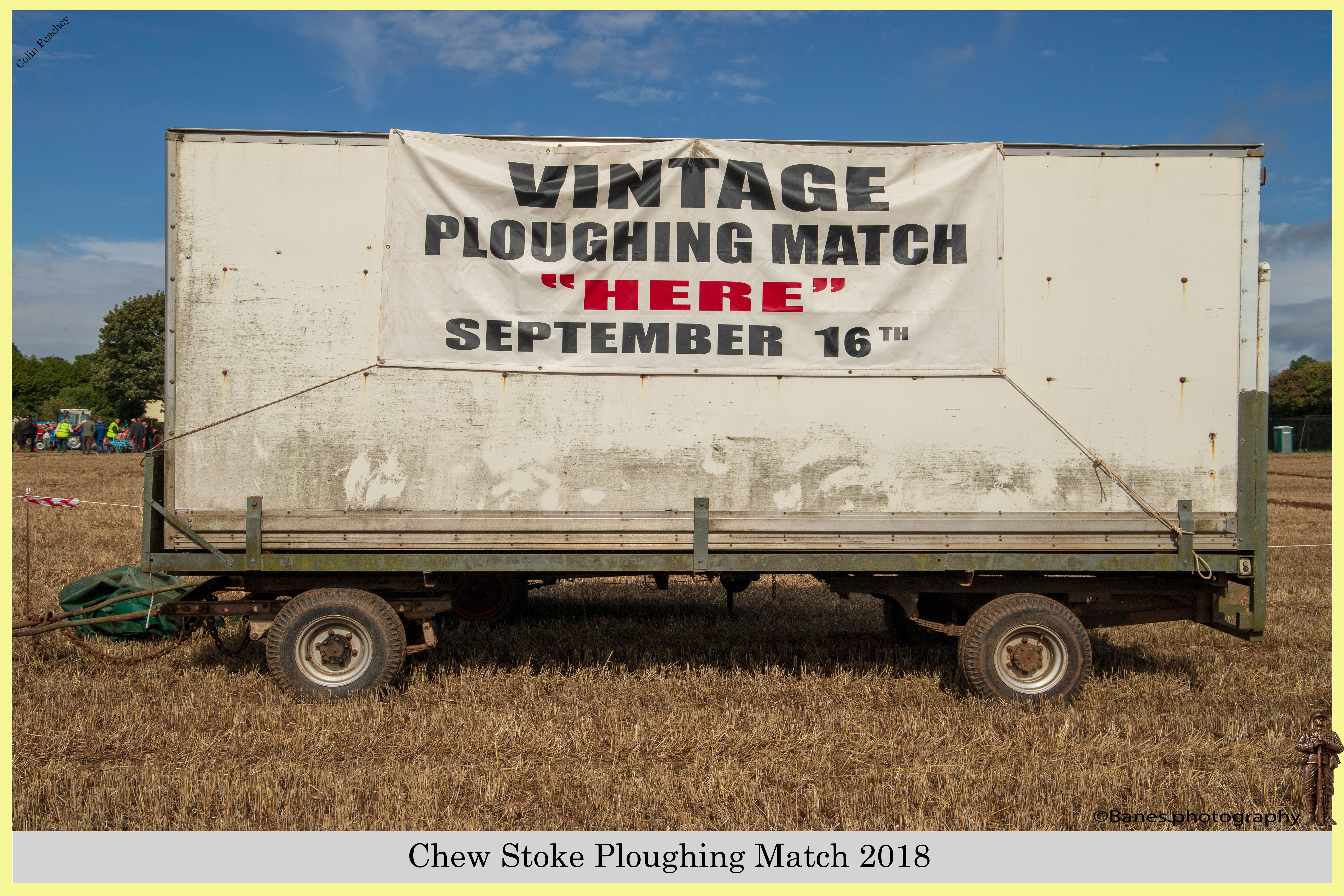 Trailer Show Sign, Chew Stoke 2018