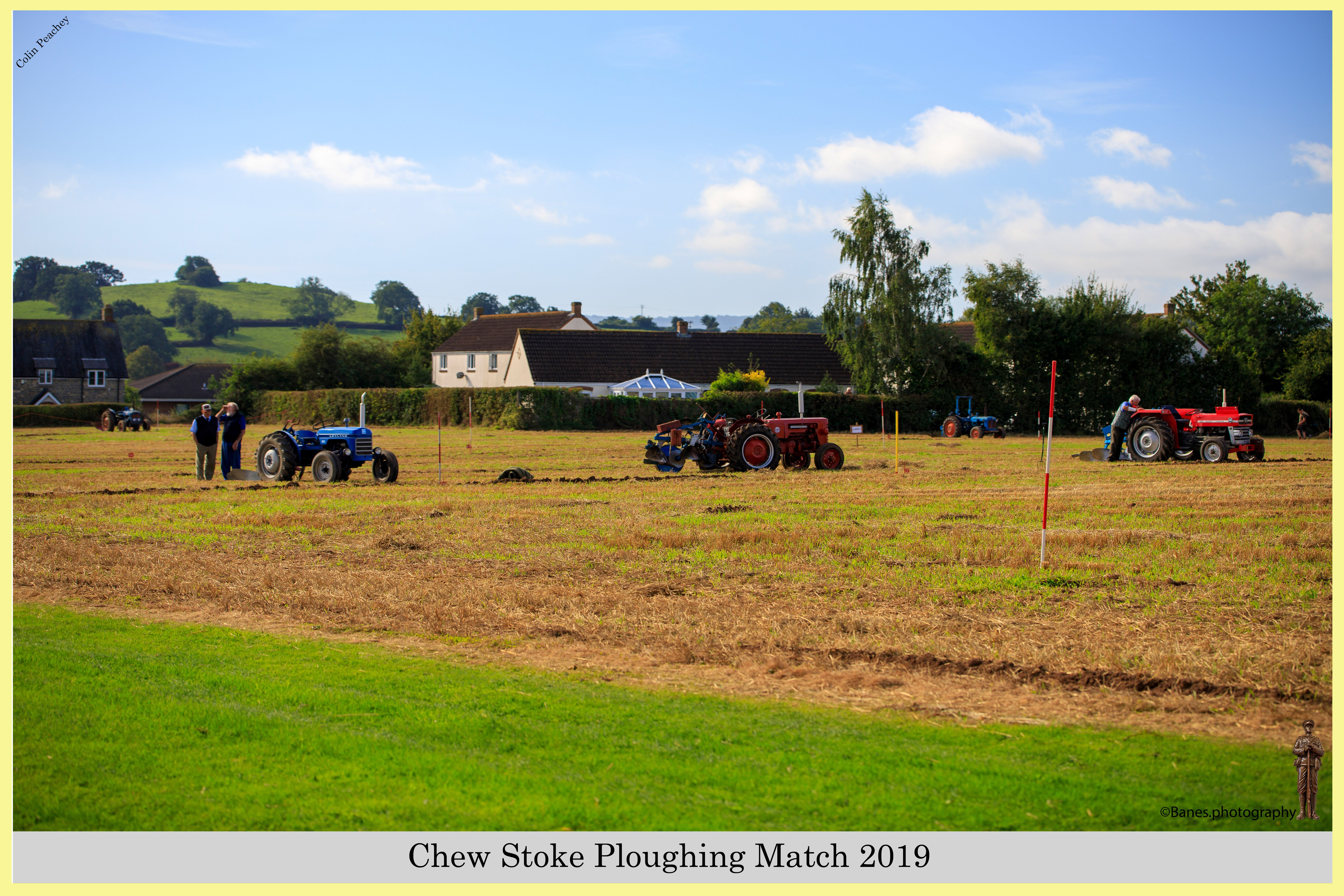 Vintage Tractor at Chew Stoke Ploughing Match 2019