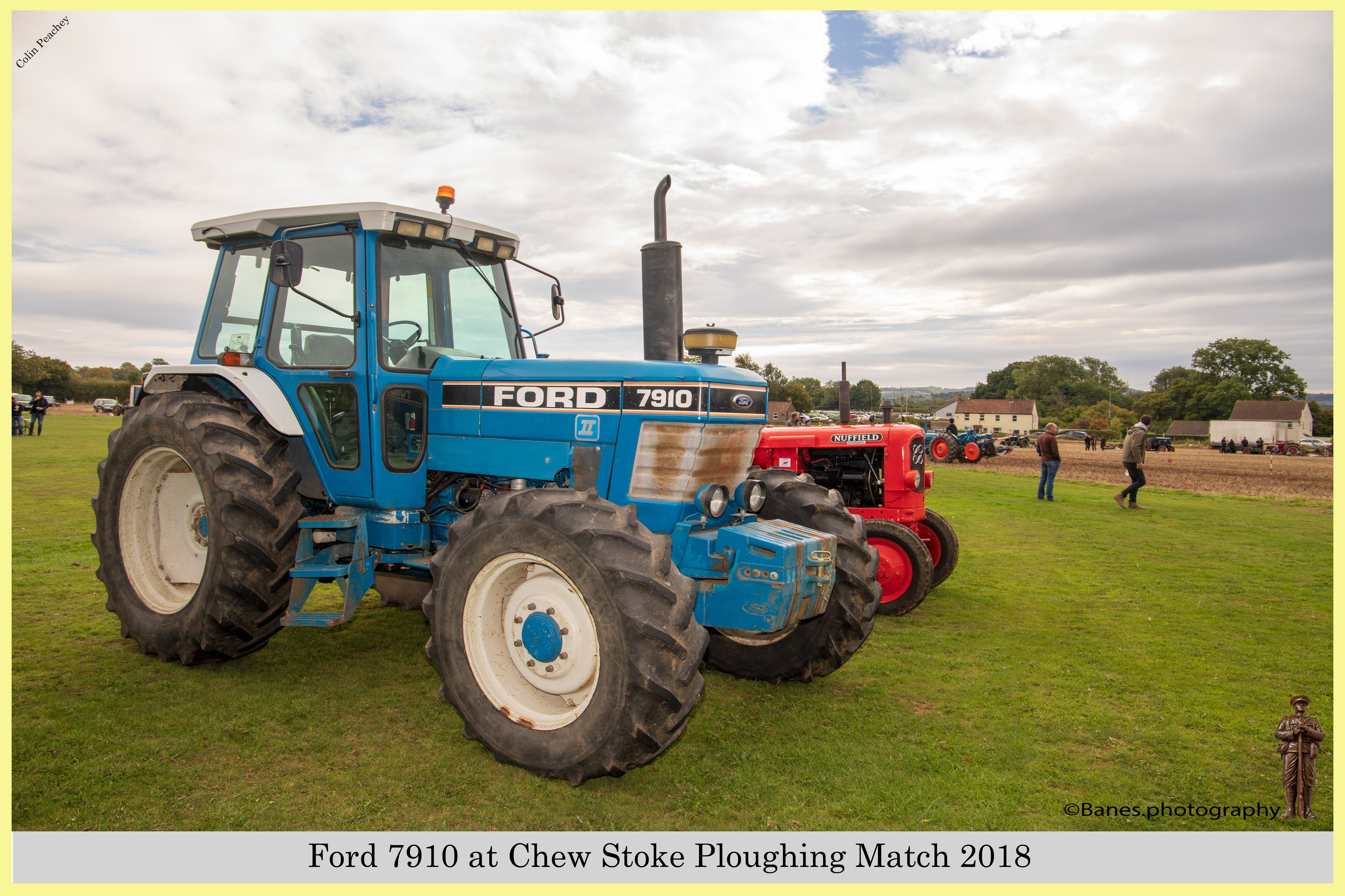 Ford 7910, E928 WCL, at Chew Stoke 2018