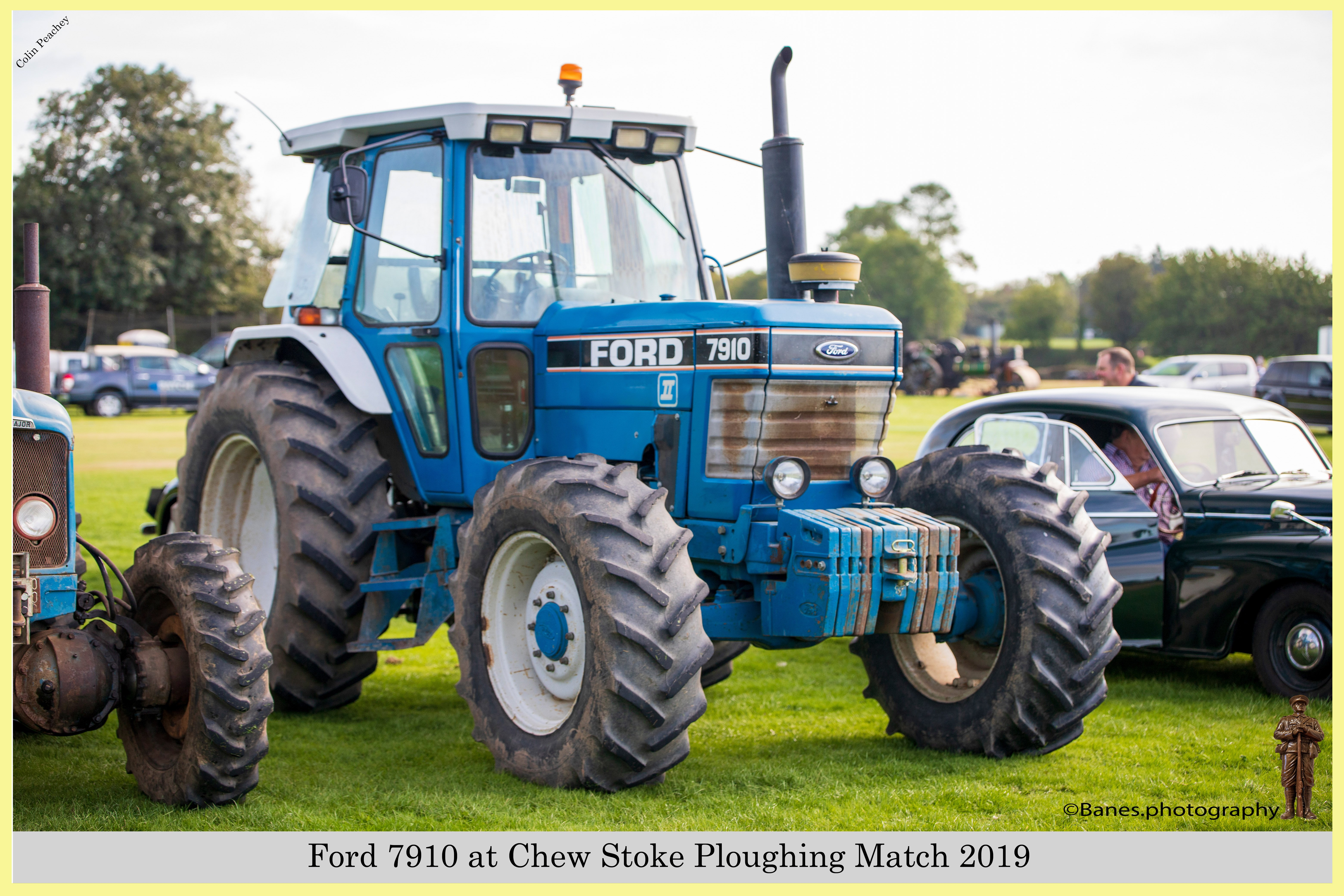 Ford 7910, E928 WCL, at Chew Stoke 2019