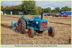 Fordson Dexta, 202 KYD, at Chew Stoke 2018