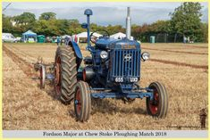 Fordson Major, 655 UXD, at Chew Stoke 2018