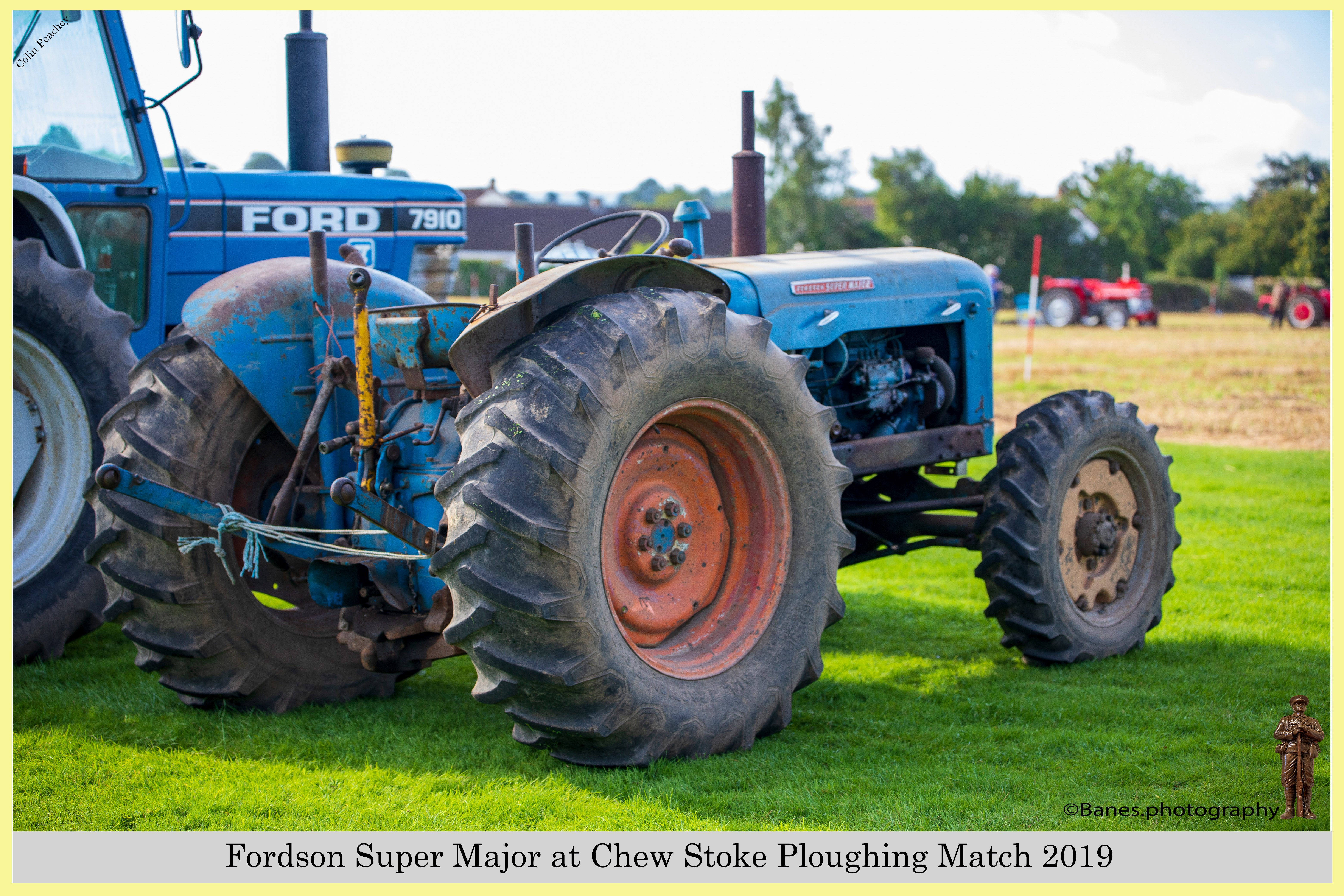 Fordson Super Major at Chew Stoke 2019