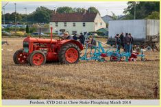 Fordson, EYD 243 at Chew Stoke 2018