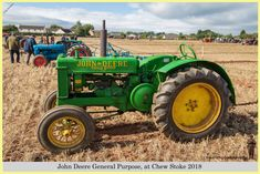 John Deere General Purpose, at Chew Stoke 2018