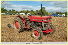Massey Ferguson 135, FMR 306D, at Chew Stoke 2018