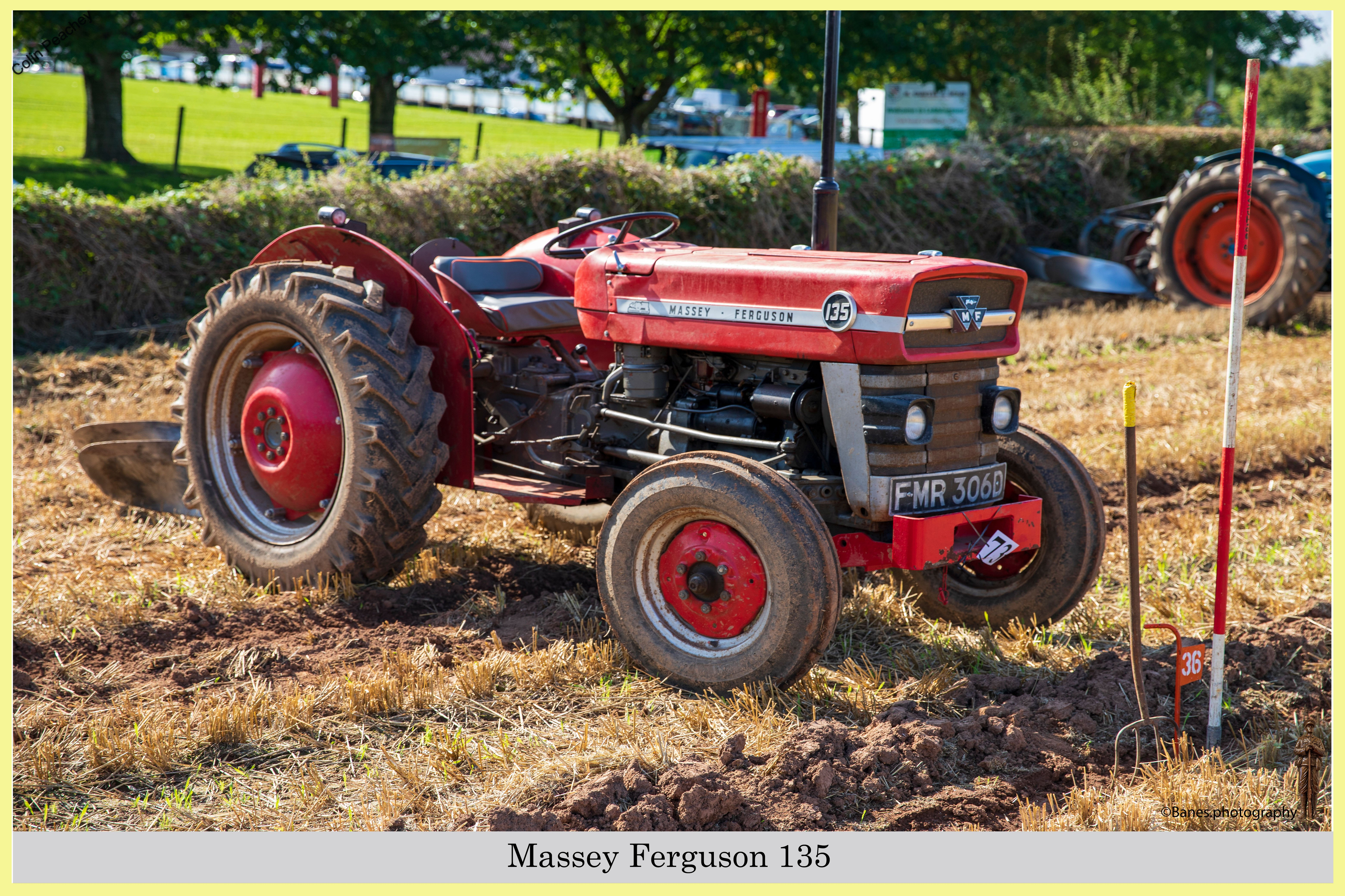Massey Ferguson 135, FMR 306D, at Chew Stoke 2019