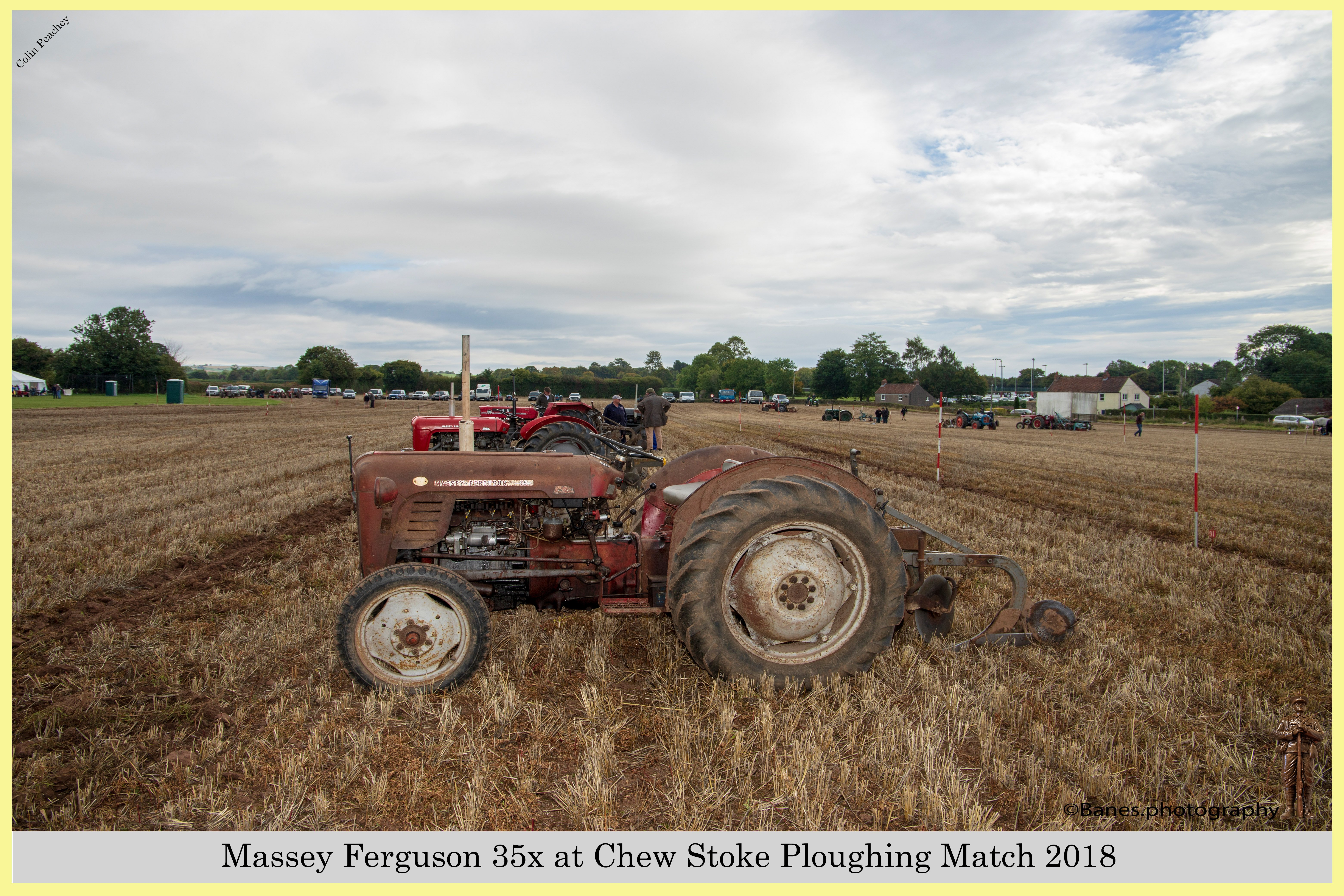 Massey Ferguson 35, at Chew Stoke 2018