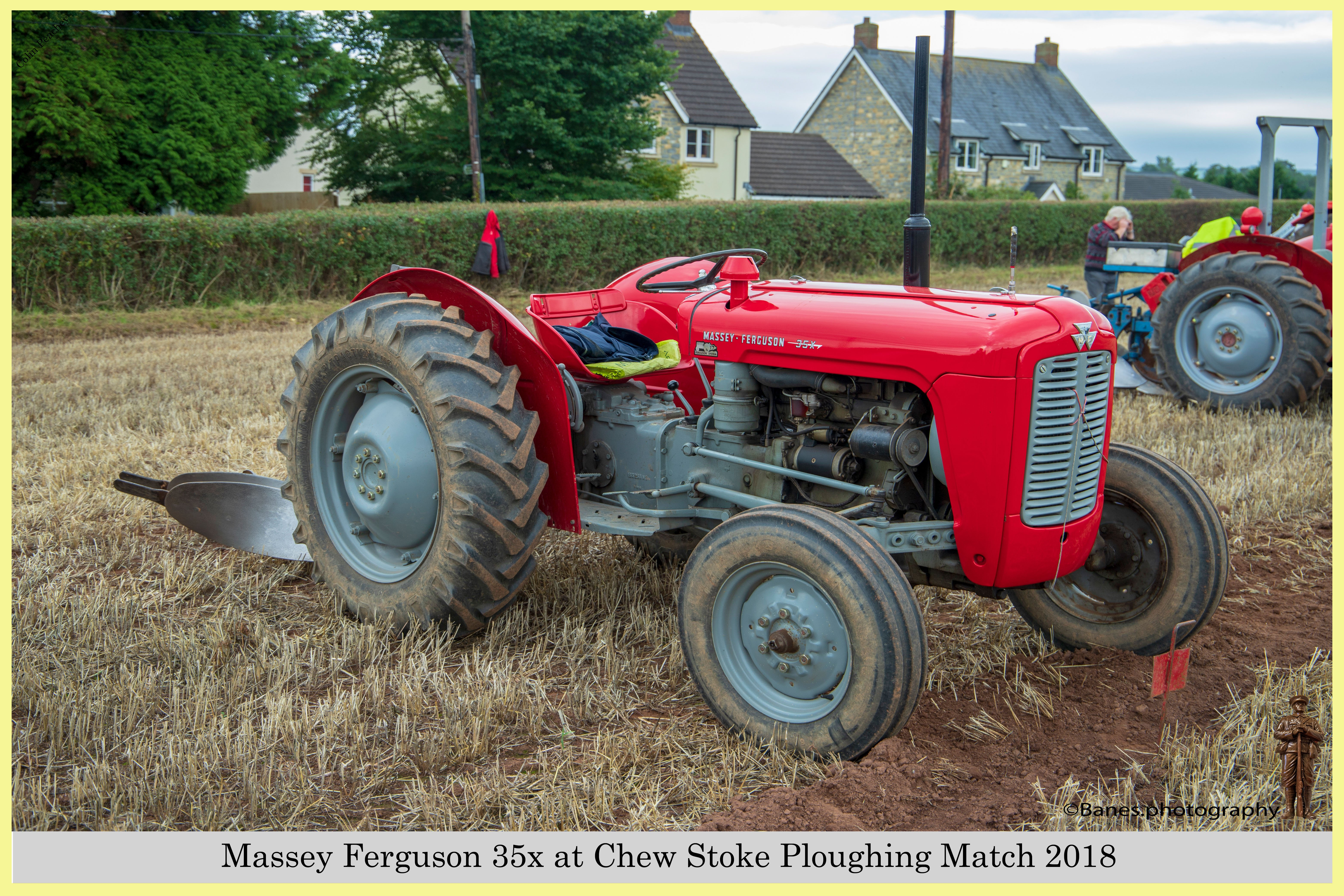 Massey Ferguson 35x, at Chew Stoke 2018