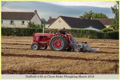 Nuffield 4-65 at Chew Stoke Ploughing Match 2018