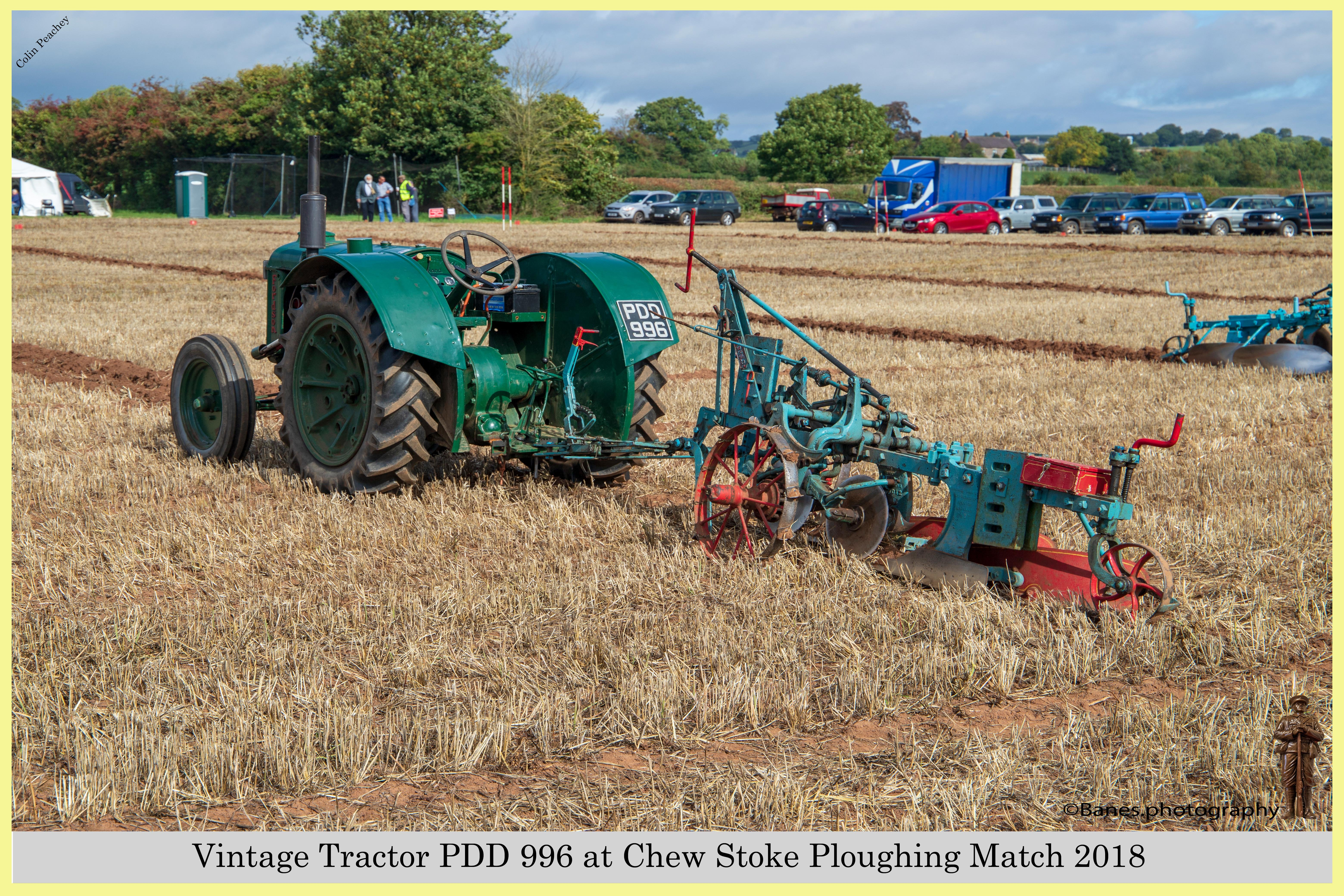 PDD 996 at Chew Stoke Ploughing Match 2018
